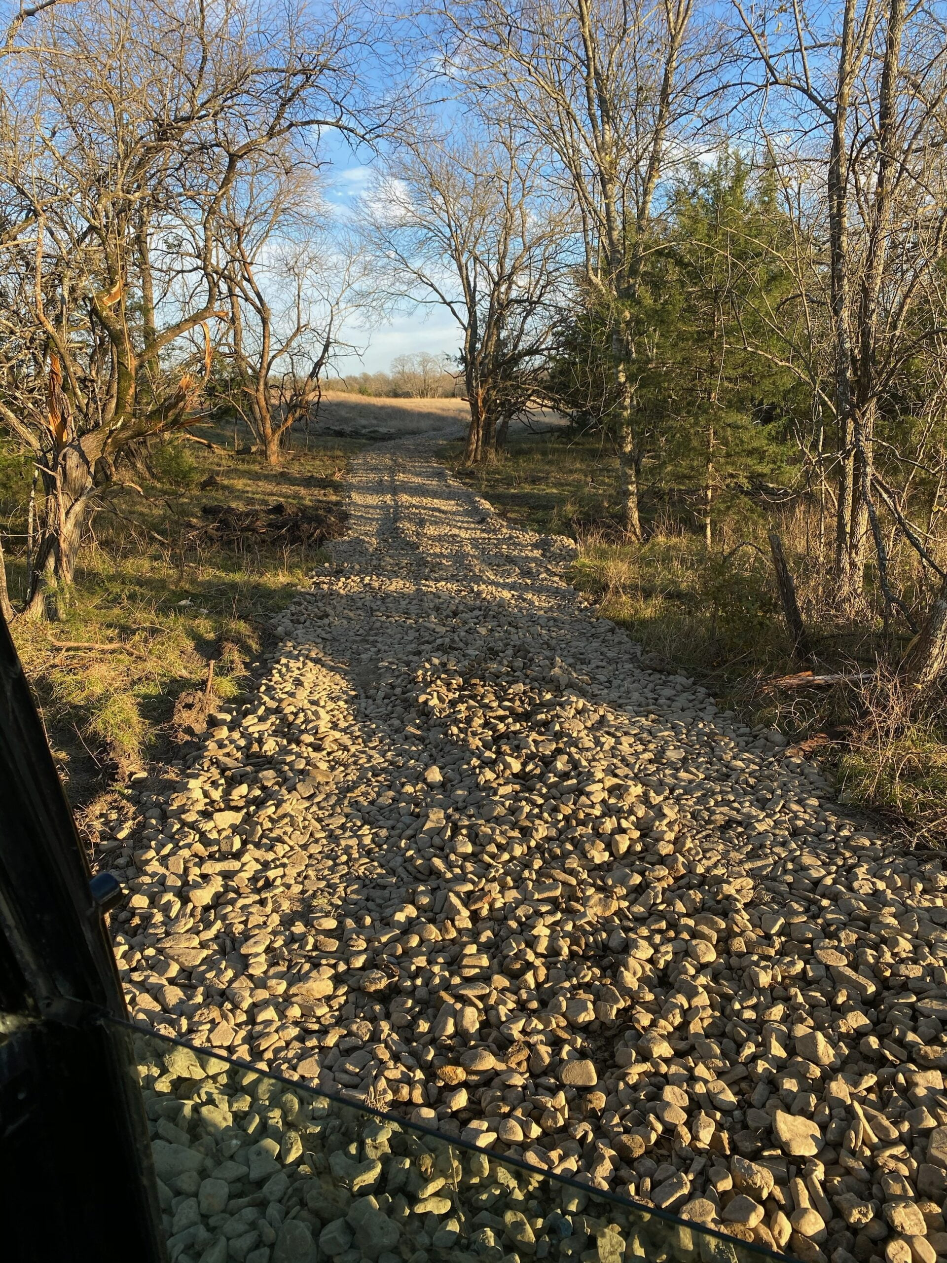 Land Clearing Dallas Ranch Road
